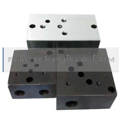 China OEM factory manifold block, made of steel/brass, special custom service provided
