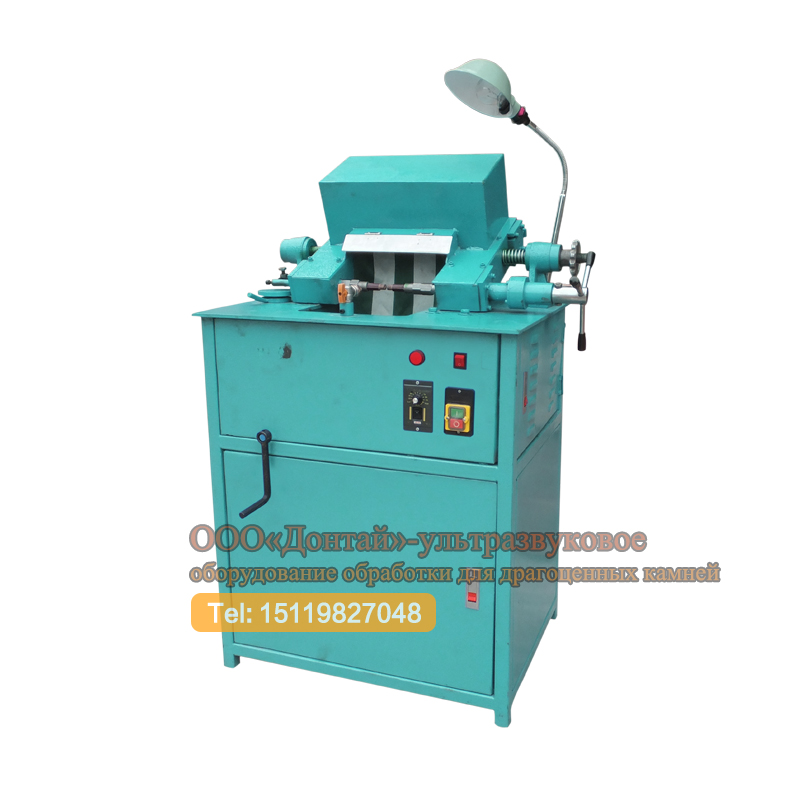 Round bead milling gem machine