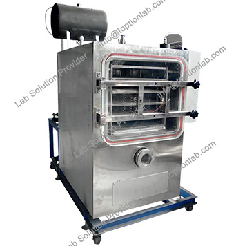 Herbal Freeze Dryer Fruit Drying Machine Industrial Lyophilizer Customize