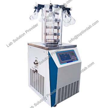 Vacuum Freeze Drying Machine Pilot Lyophilization Equipment ISO & CE Certified