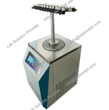 Bacteria Freeze Dryer Microbial Strains Lyophilizer Manufacturer