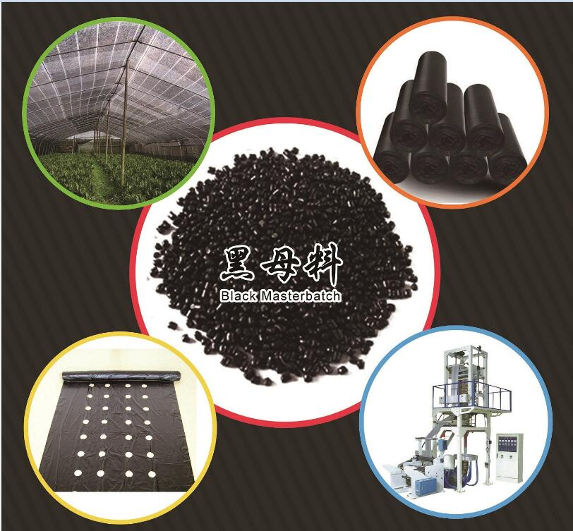 RoHS standard high quality general use HDPE black masterbatch