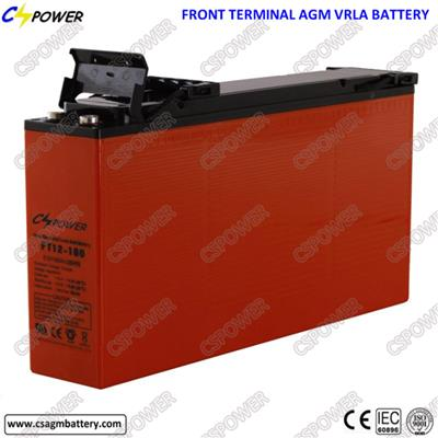 Lead Acid/Front Terminal Battery Ft12-160 for Communication Use