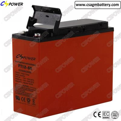 12V55ah Seled Solar AGM Front Access Battery