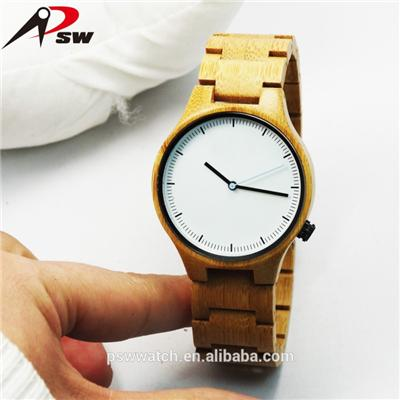 Miyota 2035 Movement Wooden Wrist Watch
