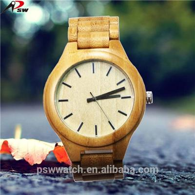 Water Resistant Wooden Case Watch