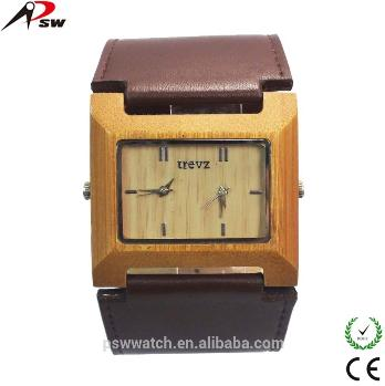 Big Strap Leather Watch