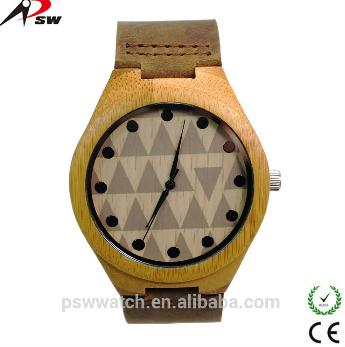Wooden Watch Leather