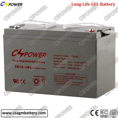 Rechargeable 12V100ah Solar Power Gel Battery UPS Battery for Solar