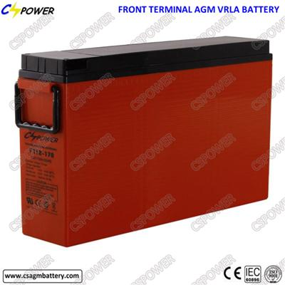 Manufacturer 12V 170/175ah Front Access Battery for UPS Equipment