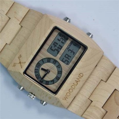 Custom Bamboo Watch
