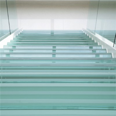 Tempered Laminated Glass Stair Staircase Steps