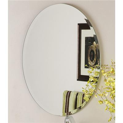 Oval Bathroom Wall Glass Mirrors