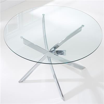 Clear Glass Dining Table Top
