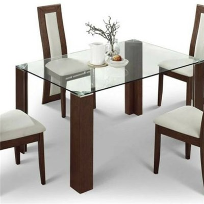 Tempered Glass Dining Table Top