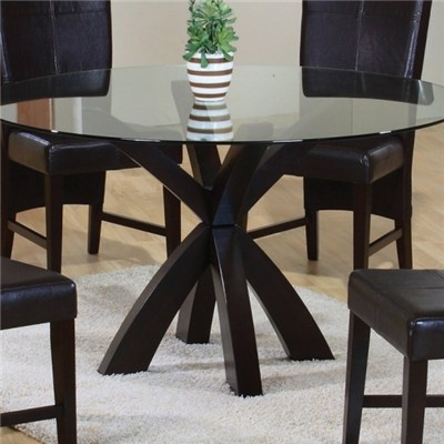 Round Glass Dining Table Top