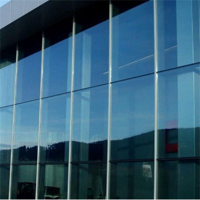 Laminated Reflective Glass Curtain Wall