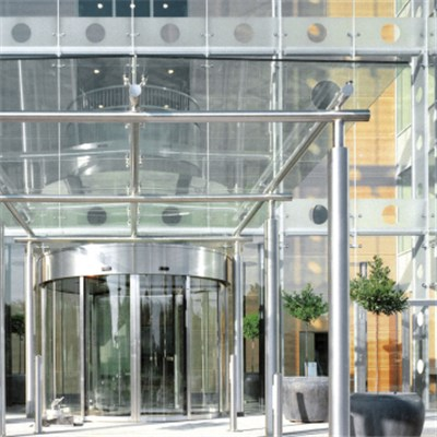 Tempered Laminated Clear Glass Curtain Wall