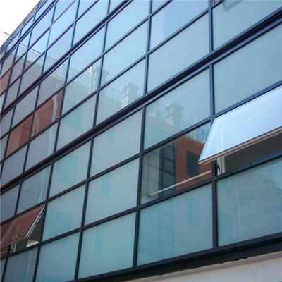 Tempered Insulated Reflective Glass Curtain Wall