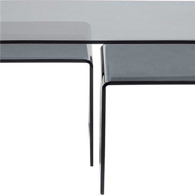 Bent Tempered Glass Coffee Table