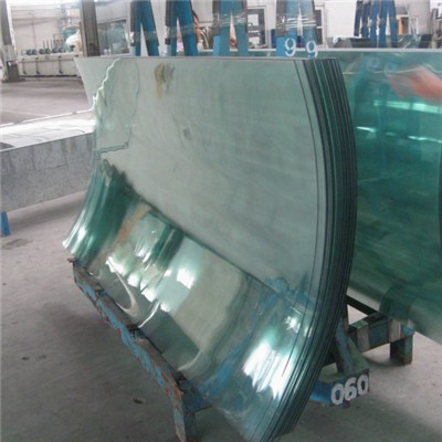 Hot Bent Tempered Glass Curtain Wall