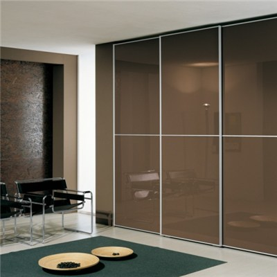 Flat Tempered Lacquered Glass