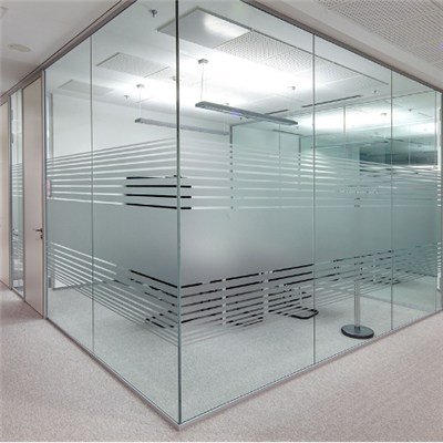 Frosted Tempered Glass Wall Partitions