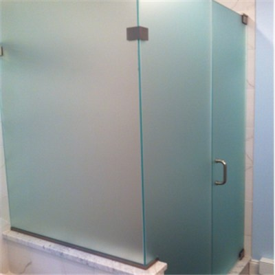 Frosted Tempered Glass Enclosure Shower Door Cubicles