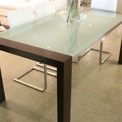 Frosted Tempered Glass Furniture Table Top