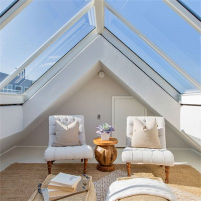 Tempered Insulated Glass Skylight Roof