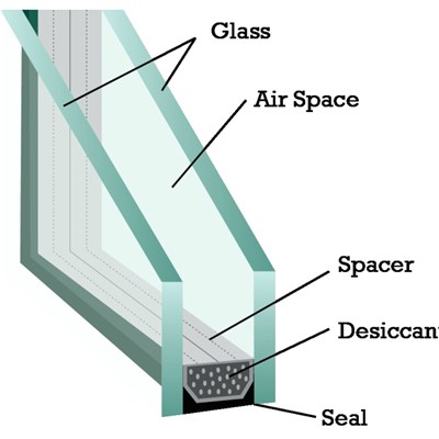 Tempered Insulated Glass Window