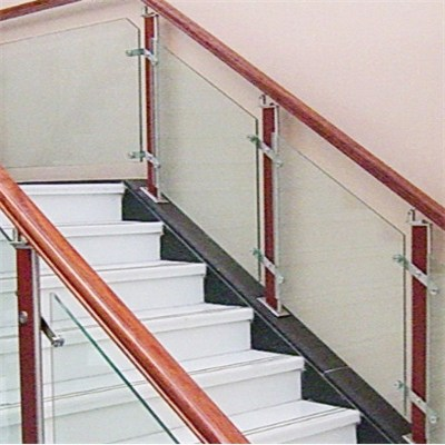 Tempered Laminated Glass Railing Baluster Balcony Fence