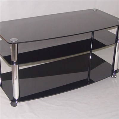 Tv Stand Rectange Glass Table Top