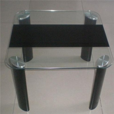 Silkscreen Printing Glass Coffee Table Top