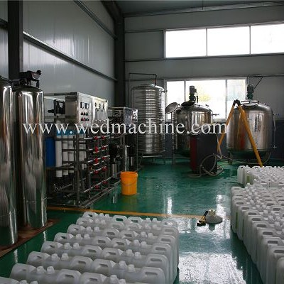 Dishwashing Dertergent Mixing Machine