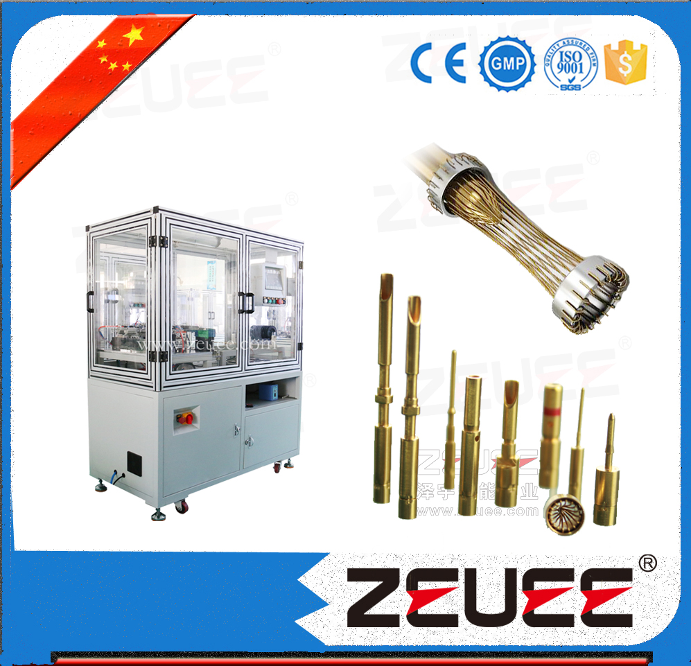 Hyperboloid socket assembly machine