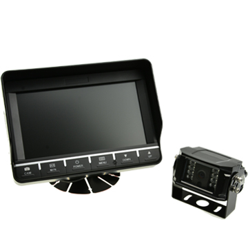 BR-TQS7002 7 TFT Rearview System With Touch Button Supporting 4CH