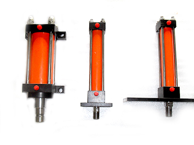 Double Acting Hydraulic Telescopic Cylinder For Hay Baler