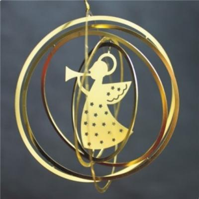Die-Cut 3D Metal Ornament