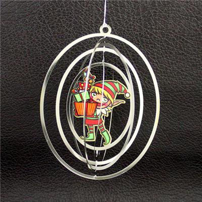 Photo-Printing 3D Metal Ornament