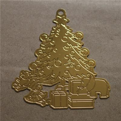 Etching2D Metal Ornament