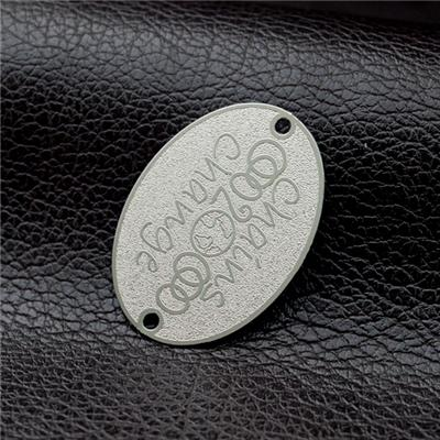 Etching Metal Clothing Tag