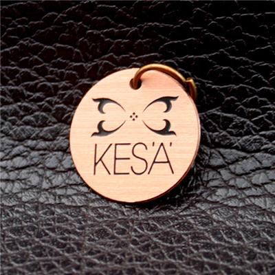 Etching Metal Jewelry Tag