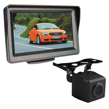 4.3 Rearview System with Stand-Alone Monitor and Mini Camera BR-OML4301