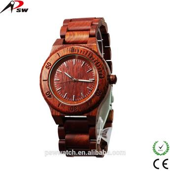 2015 New Design Wood Watch