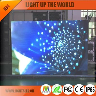 p6.25 rental led screen for stage