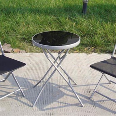 2016 Hot Sale Cheap Bistro Set With Multi-colored Steel Tube Chairs And Table