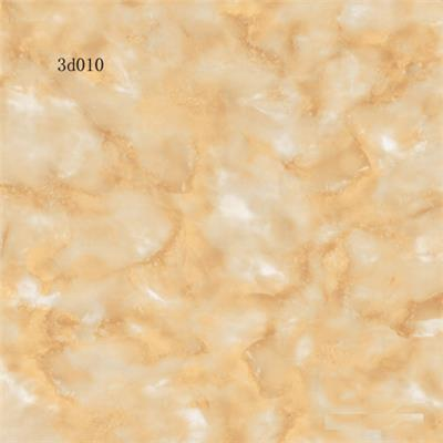 Porcelain tile with full polished glazed surface