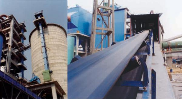 Cement machinery, cement factory