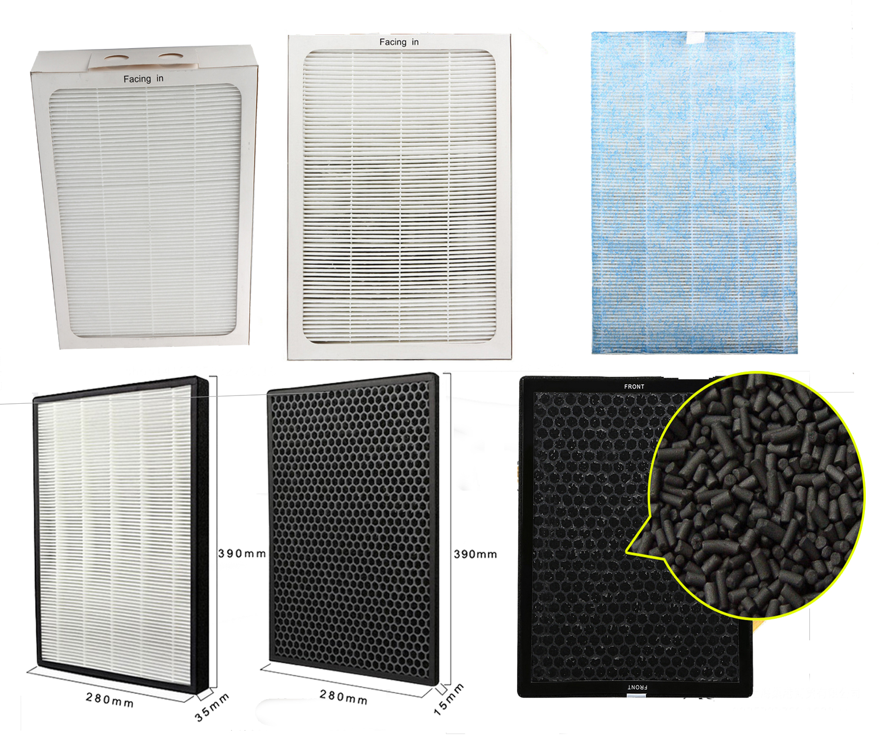 hot sales, air filter,  HEPA FILTER FOR AIR PURIFIER